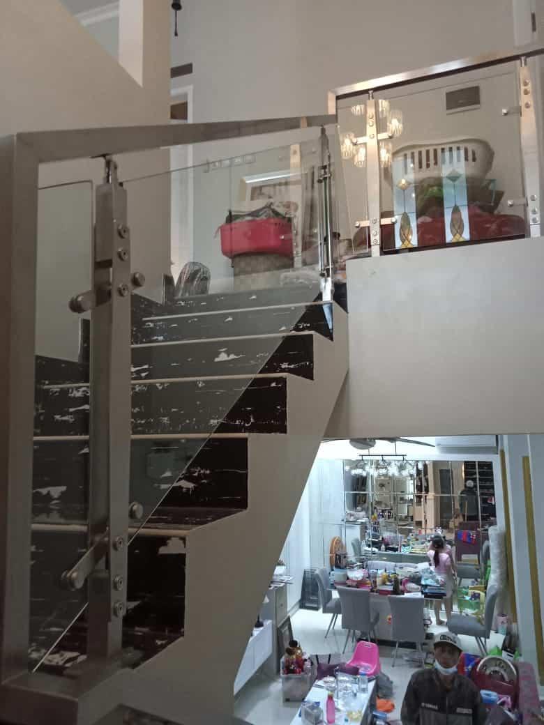 railing tangga stainless bogor